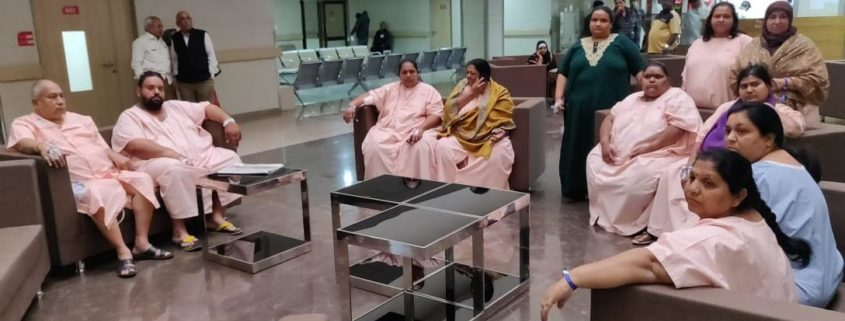 18 BARIATRIC SURGERIES IN ONE STRETCH