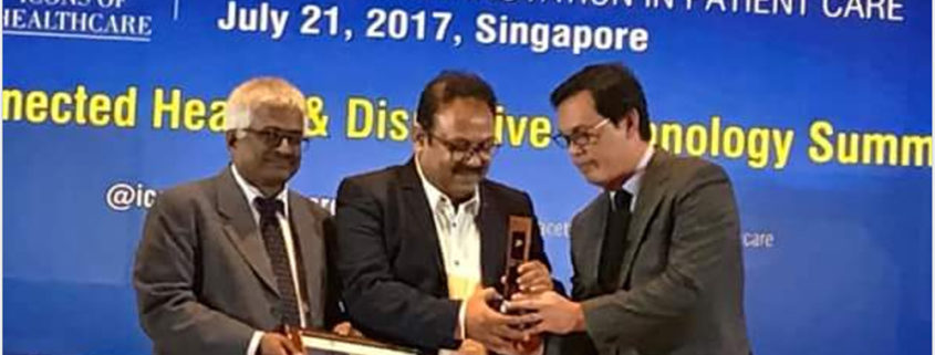 NOBESITY WINS ICONS OF HEALTHCARE 2017 AWARD AT SINGAPORE FOR EXCELLENCE IN BARIATRIC SURGERY