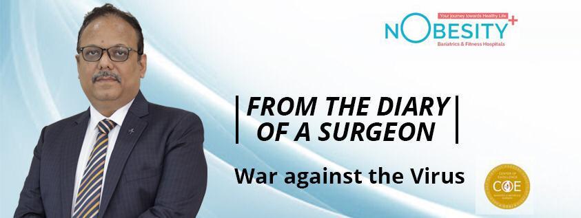 WAR AGAINST THE VIRUS- DR. MANISH KHAITAN