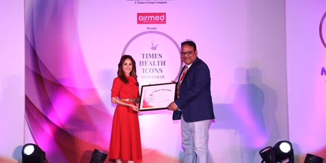 NOBESITY AWARDED AS TIMES HEALTH ICON: AHMEDABAD AND SURAT