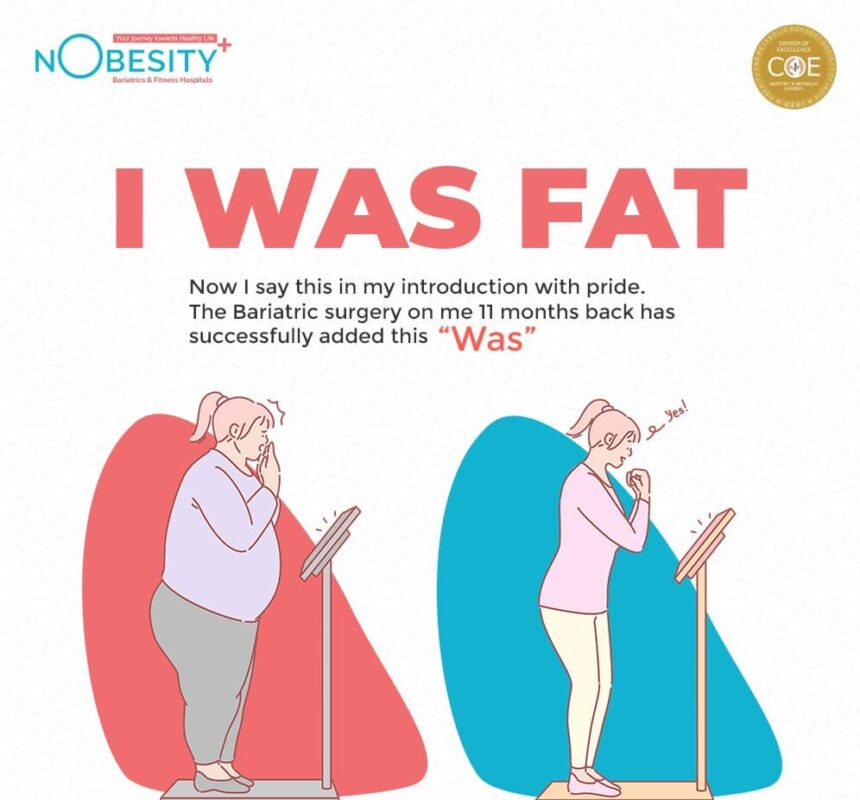 """""""I WAS fat""""."""