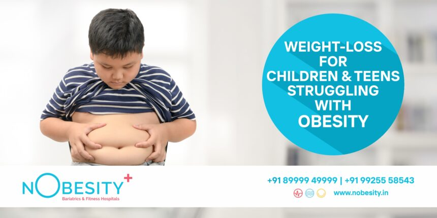 Weight Loss for Children and Teens Struggling with Obesity